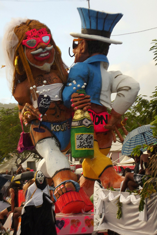 Roi Vaval from Carnaval in Martinique, 2013