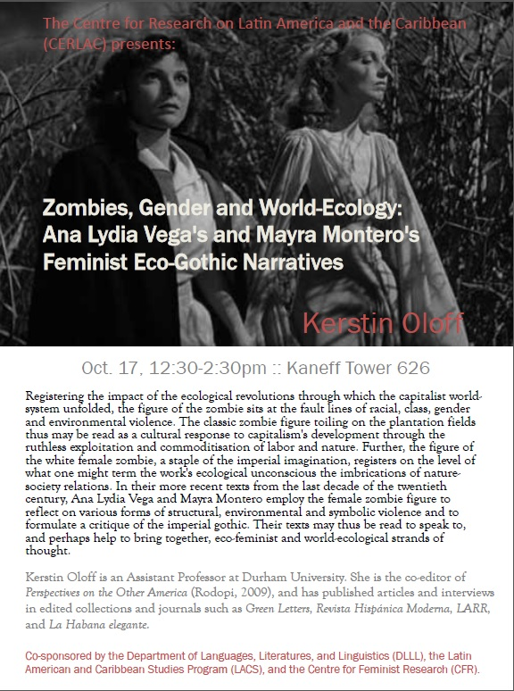Zombies, Gender and World Ecology