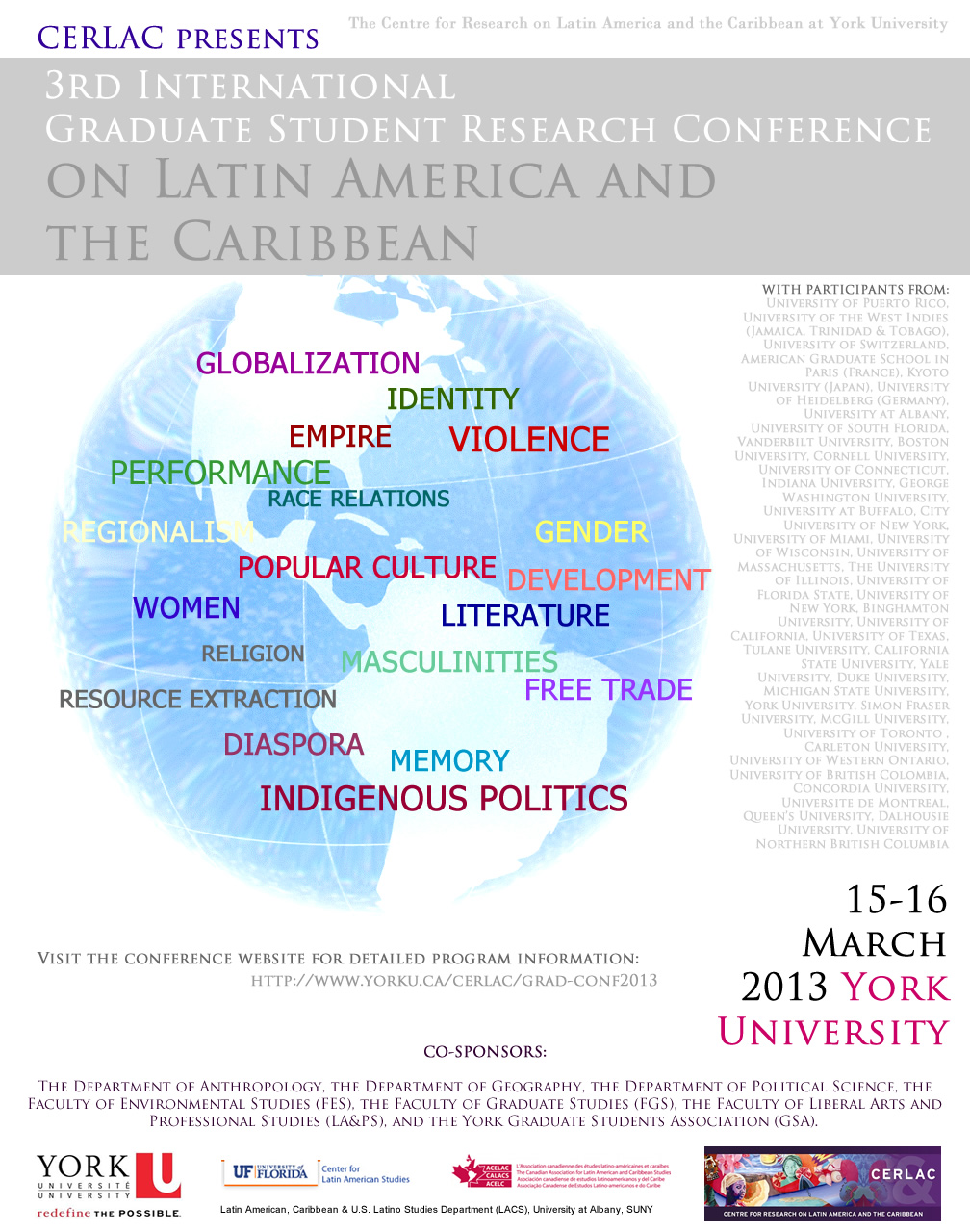 3rd International Graduate Student Research Conference on Latin America & the Caribbean 2