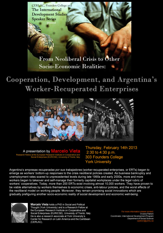 Argentina's Worker-Recuperated Enterprises
