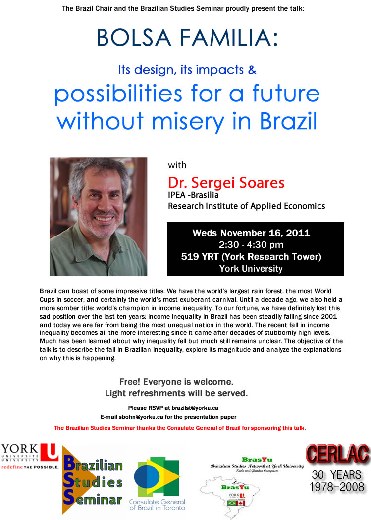 Bolsa Familia & Possibilities of a Future without Misery in Brazil