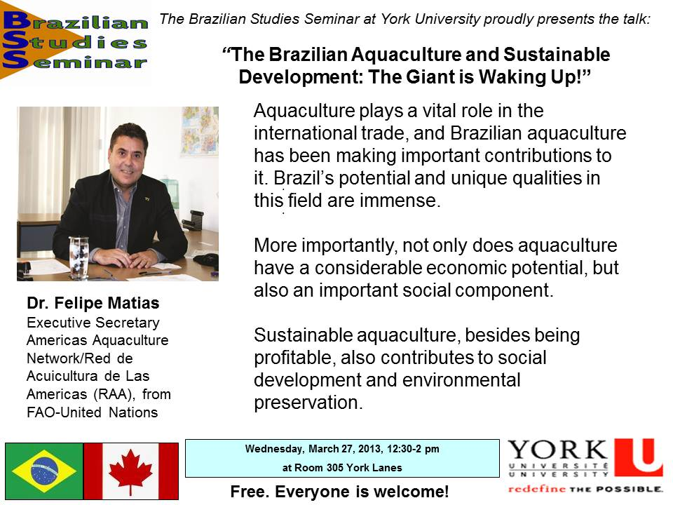 Brazilian Aquaculture and Sustainable Development