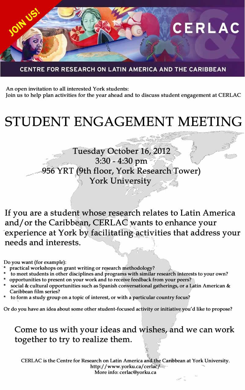 CERLAC Student Engagement