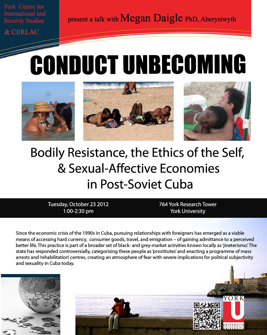 Conduct Unbecoming Sexual-Affective Economies in Post-Soviet Cuba
