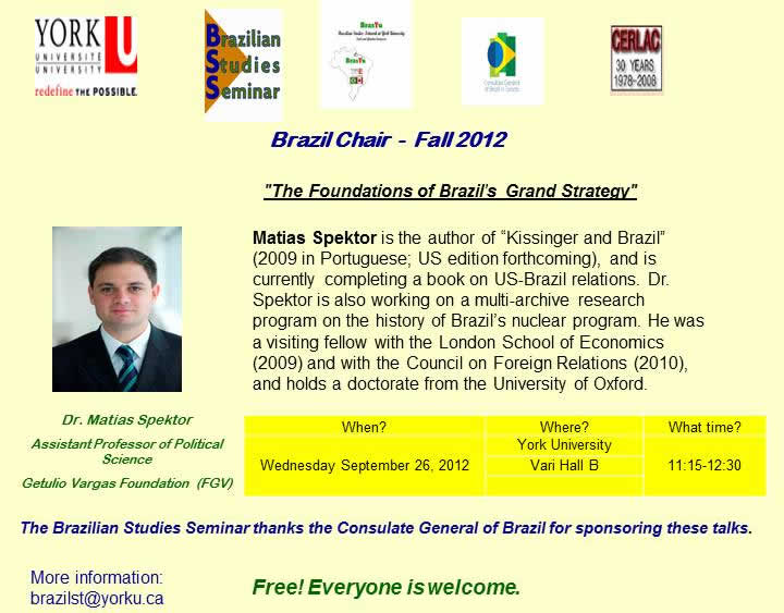 Foundations of Brazil's Grand Strategy