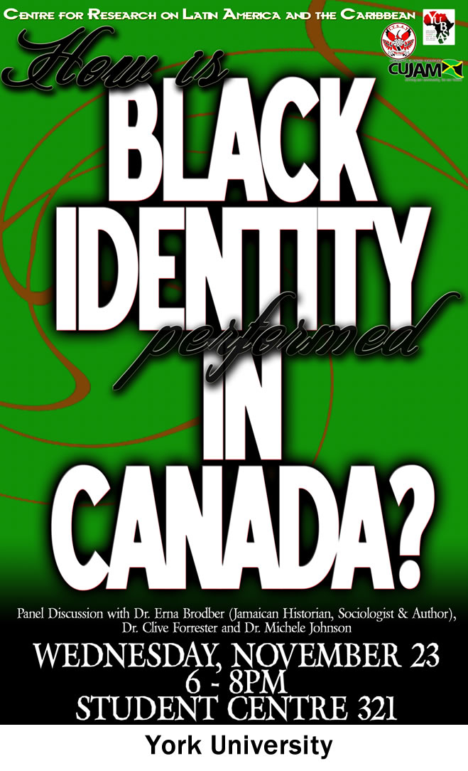 How is Black Identity Performed in Canada