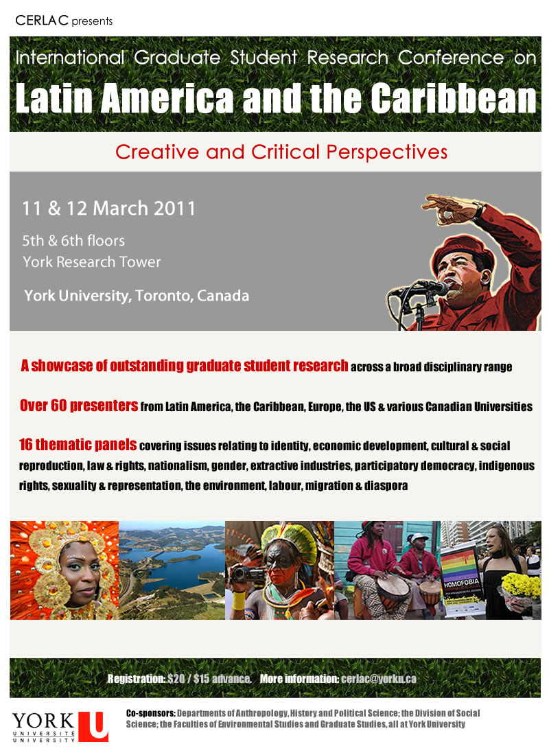 International Graduate Student Research Conference on Latin America & the Caribbean