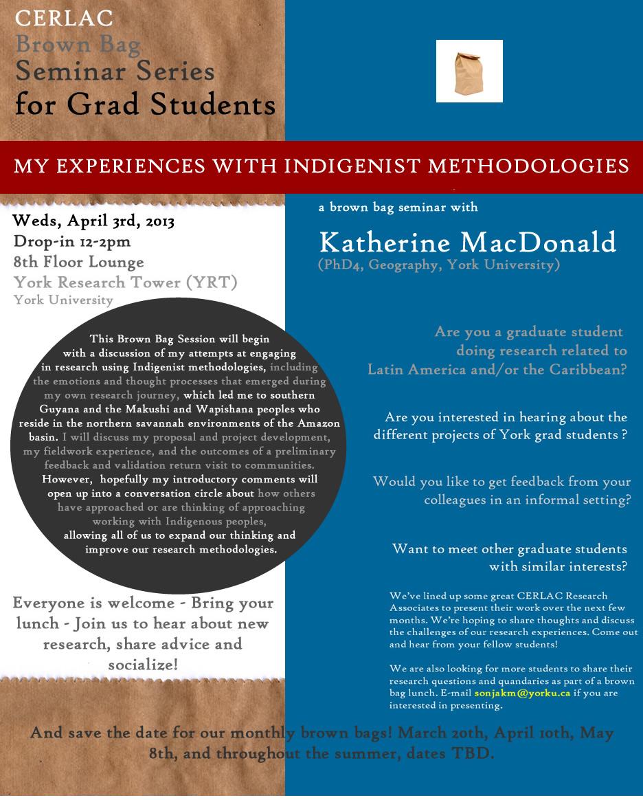 My Experience with Indigenist Methodologies