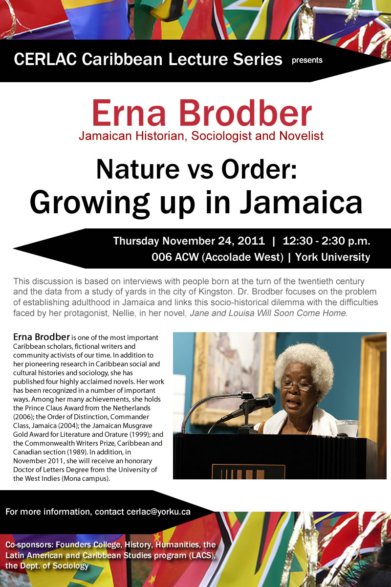 Nature vs Order Growing up in Jamaica