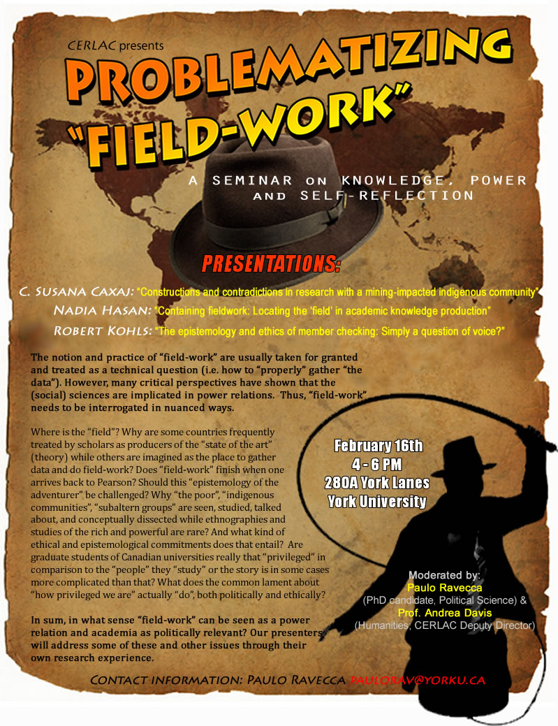 Problematizing Fieldwork