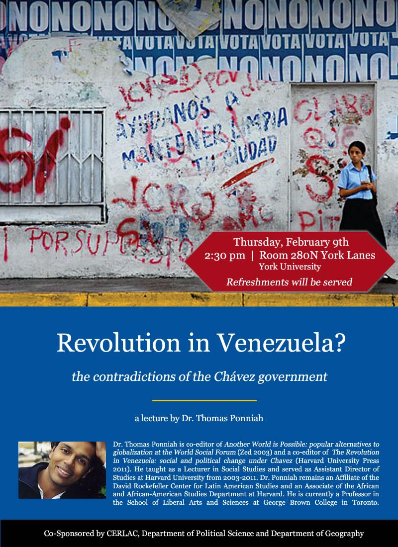 Revolution in Venezuela
