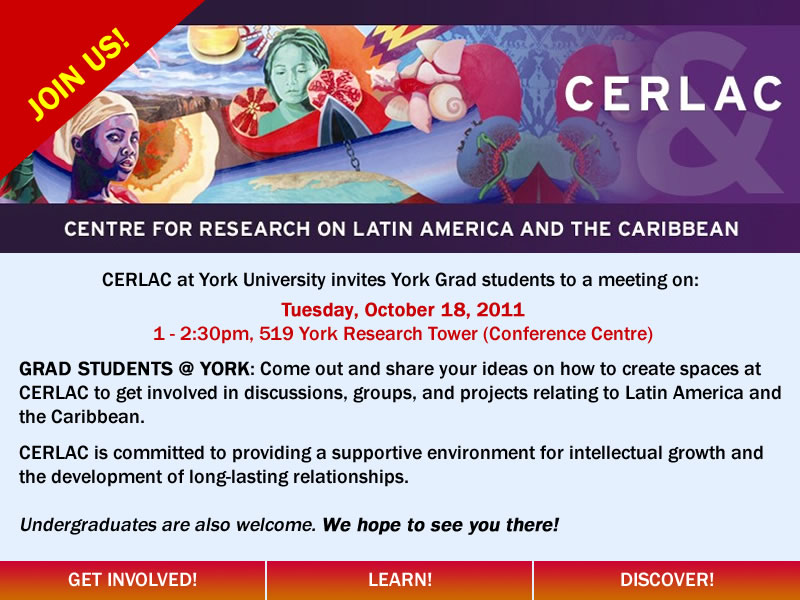 Students Get involved with CERLAC