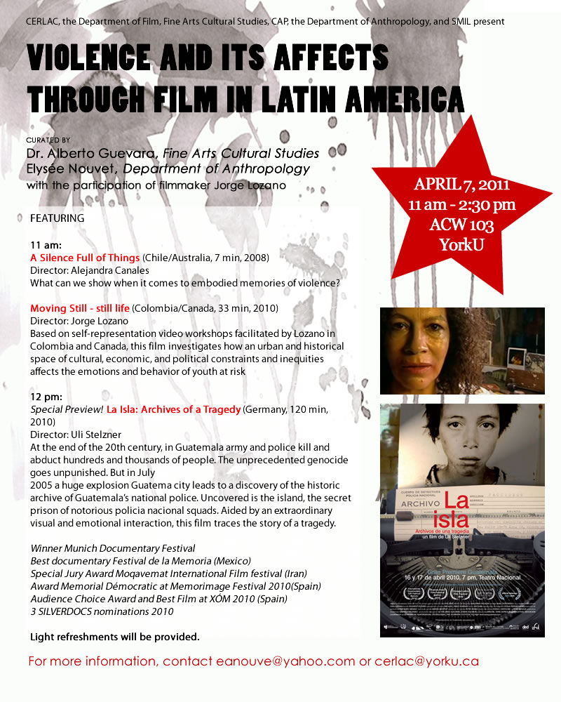 Violence & its Affects Through Film in Latin America
