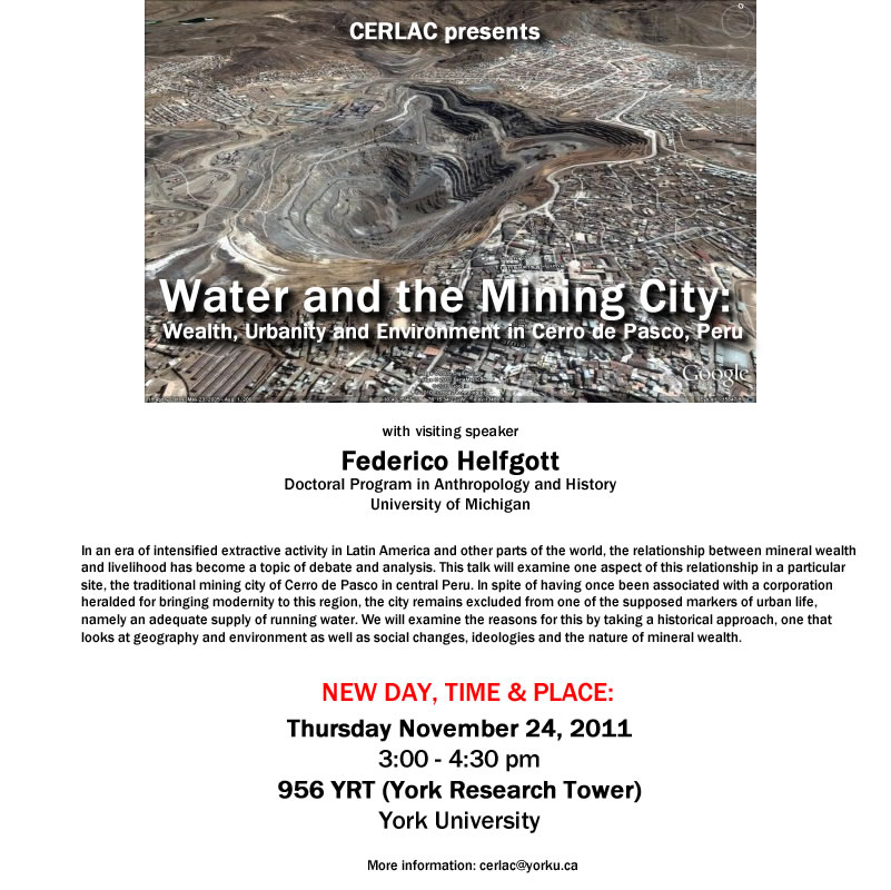 Water and the Mining City