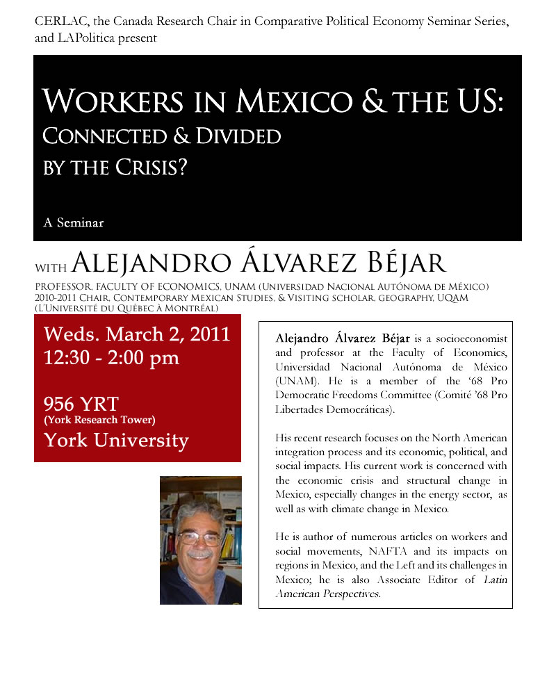 Workers in Mexico & the US Divided & Connected by the Crisi