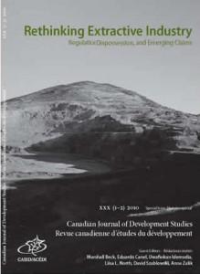 canadian journal of development studies, rethinking extractive industries