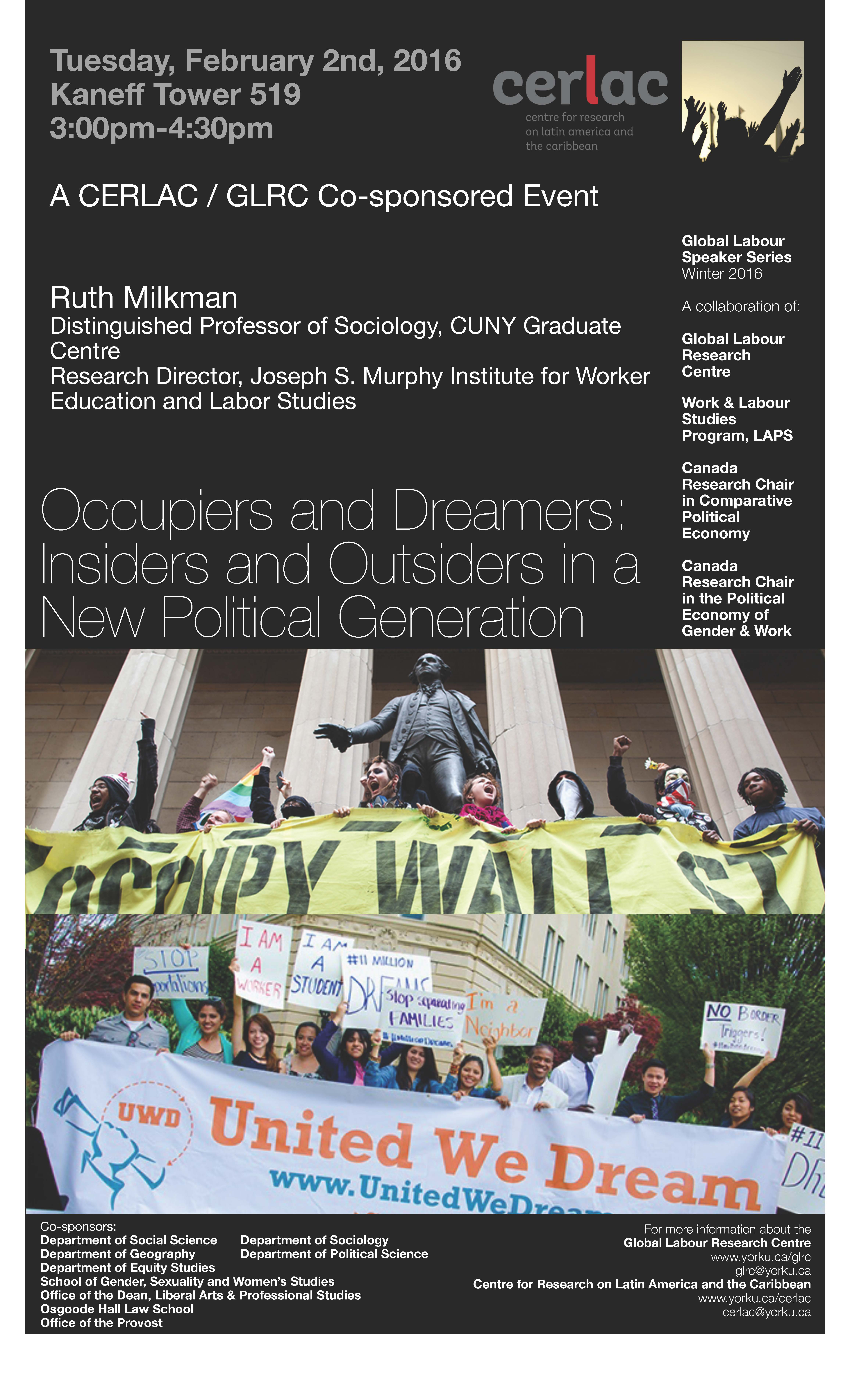 GLSS - Occupiers and Dreamers