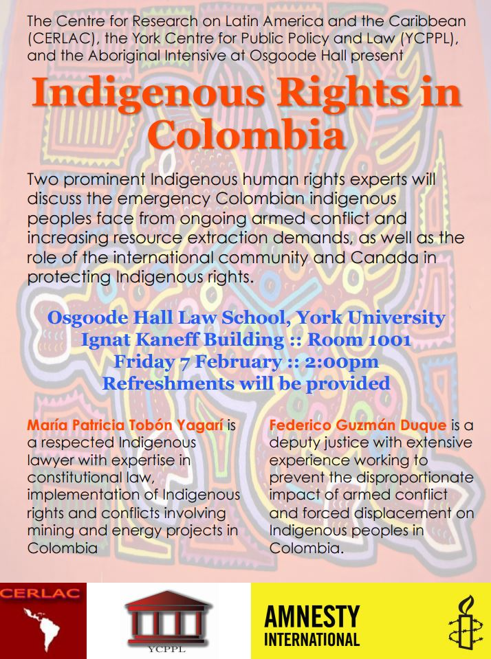 Indigenous Rights in Colombia
